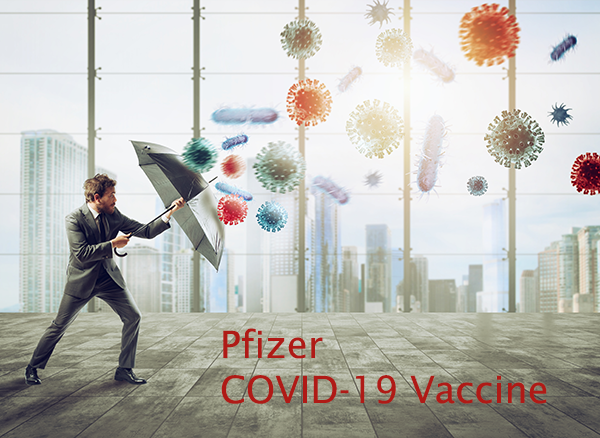Pfizer Covid-19 Vaccine Available